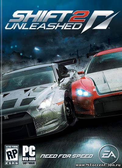 Crack, кряк, NoDvD для Need for Speed: Shift 2 Unleashed 2011. Жми на карт